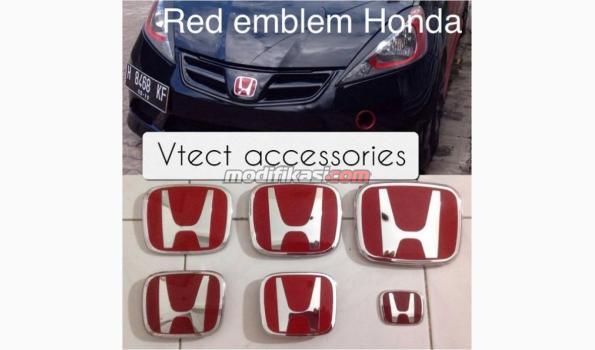 Emblem Red Merah Honda
