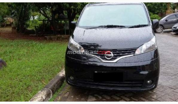 2012 Nissan Evalia Xv Manual Wrn Hitam