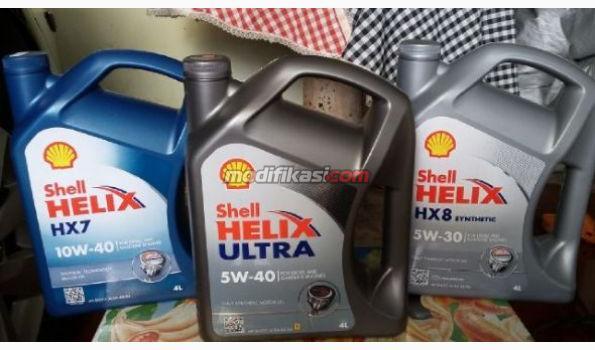 Oli Mesin Shell Helix Hx7 Hx8 Ultra