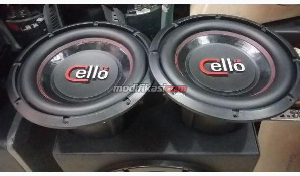 Car Audio Subwoofer Cello Yang Dijual