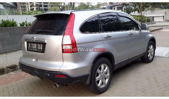 2009 Honda All Crv 2.4 AT Silver Metalik
