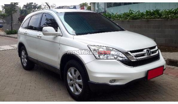 2011 Honda All New Crv 20 AT Putih Mutiara