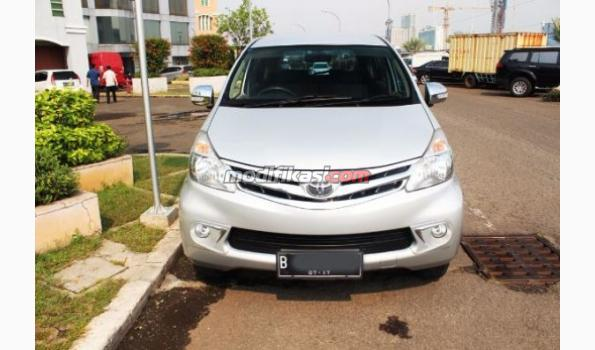2012 Toyota Avanza G AT Silver