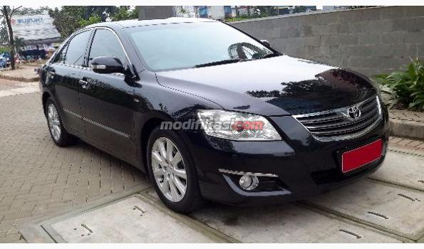 2008 toyota all new camry 2 4 v at hitam metalik. Black Bedroom Furniture Sets. Home Design Ideas