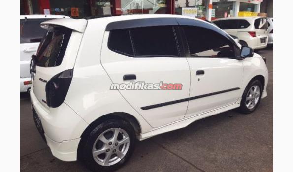 2015 Toyota Agya Trd Manual Putih Bandung Over Kredit