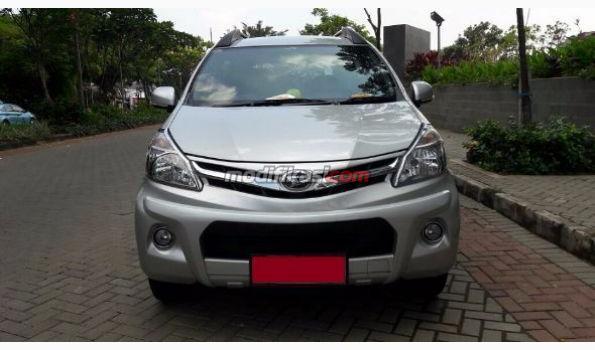 2013 Daihatsu All Xenia 1.3 R Sporty MT 2013 Silver Metalik