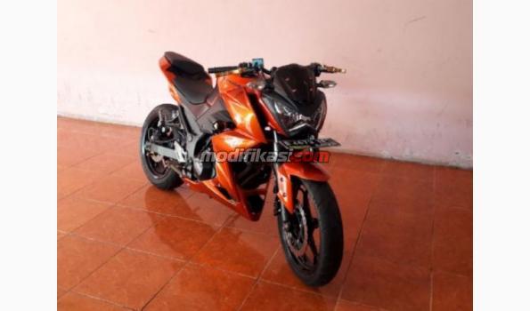 Kawasaki Ninja Z 250 Th Pemakaian 2015 Wrn Orange