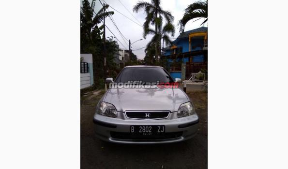 1997 Honda Civic Ferio AT Silver Mulus