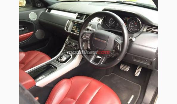 2012 Land Rover Evoque 2012 White On Red Interior Perfect Conditi
