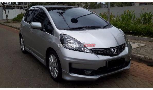 2014 Honda All New Jazz Rs AT Silver Metalik
