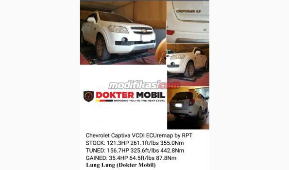 Jasa Remap Remapping Ecu Chevrolet Captiva
