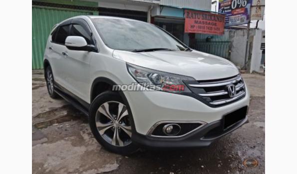 2014 Honda Crv 24 Prestige Automatic Putih Mutiara