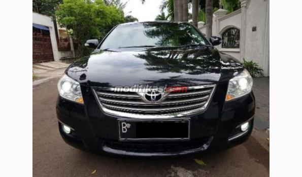 2008 toyota camry at hitam type tertinggi sunroof tdp. Black Bedroom Furniture Sets. Home Design Ideas