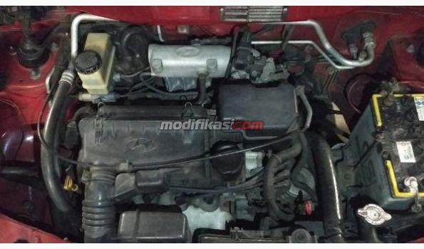 2002 Hyundai Atoz Gls A/T Red