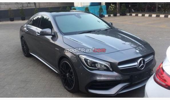2016 mercedes benz cla 45 amg demo car for Mercedes benz demo cars