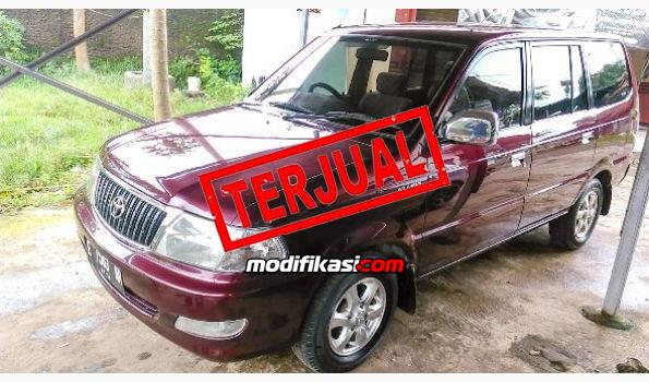 2003 Toyota Kijang Kapsul Lgx 1 8 Manual Plat E Cirebon Kota