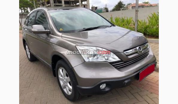 2008 Honda All New Crv 2.4 AT Abu - Abu Metalik