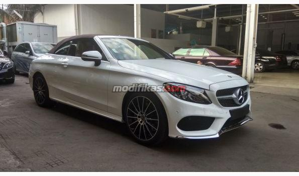 2018 Mercedes Benz C Class C300 Cabriolet Amg Line Ready Stock
