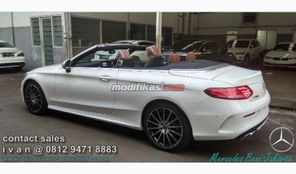 2018 Mercedes Benz C300 Cabriolet Amg Line Ready Stock