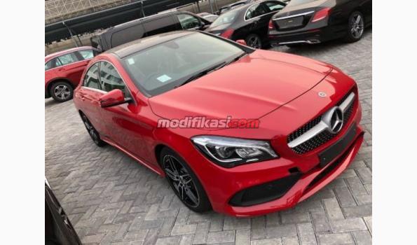 2018 Mercedes Benz Cla 200 Amg Warna Merah Rare Atpm Resmi