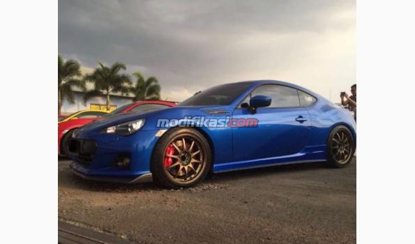 2013 Subaru Brz Blue On Black