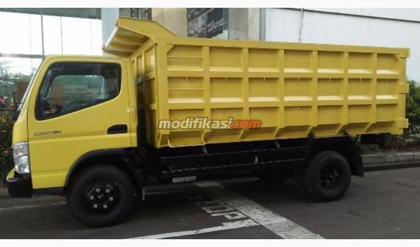 2019 Mitsubishi Dump Truck Fe 74 S Dp Ringan Atau Bunga