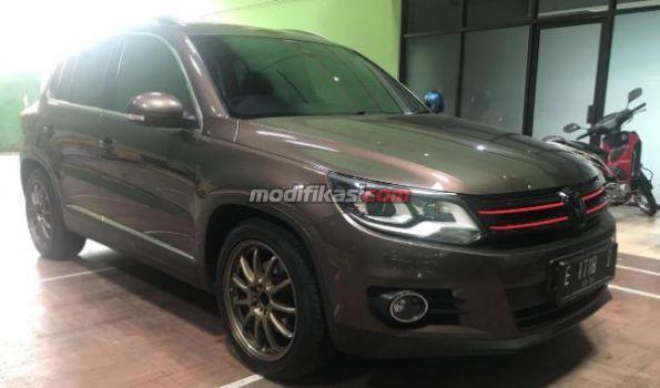 2013 Volkswagen Tiguan Hi Line Brown On Black