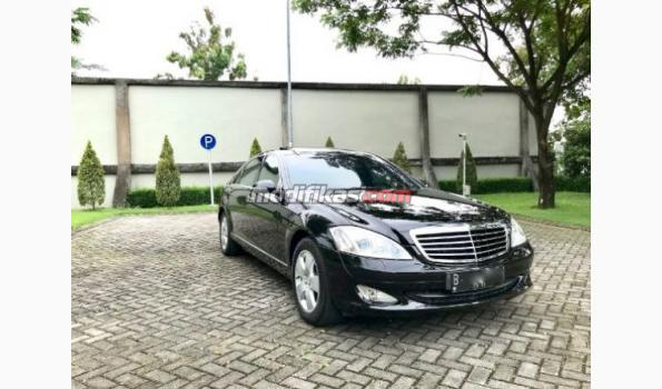 2008 mercedes-benz s350l rse 3tv km37rb black on black w221