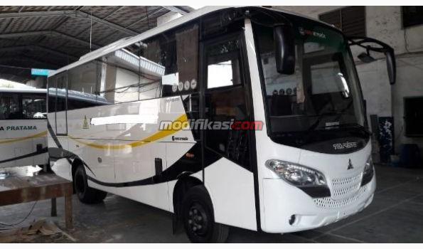 2019 Mitsubishi Bus Medium Deluxe 29seat Touristo