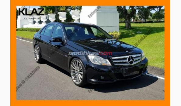 2012 mercedes-benz c200 facelift hitam model avantgarde l tgn 1