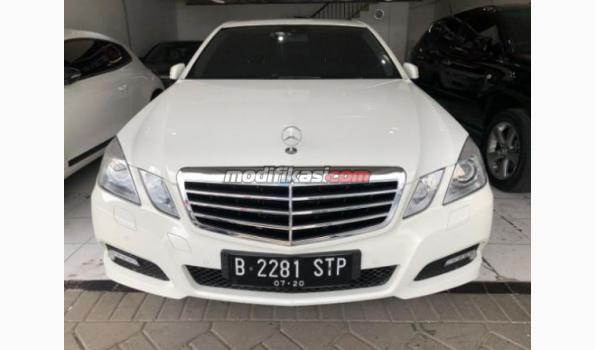 2010 mercedes-benz e250 avg putih km30rb full orisinil