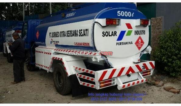 2019 Mitsubishi Canter Fe 74 Hd 125ps Tangki Bbm Pertamina