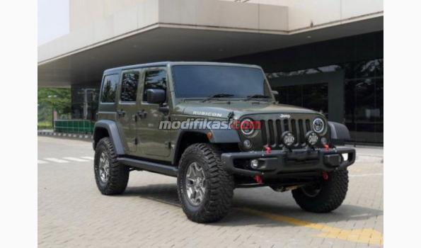 2015 Jeep Wrangler Rubicon >> 2015 Jeep Wrangler Unlimited Rubicon 3 0 Green Tank On Black